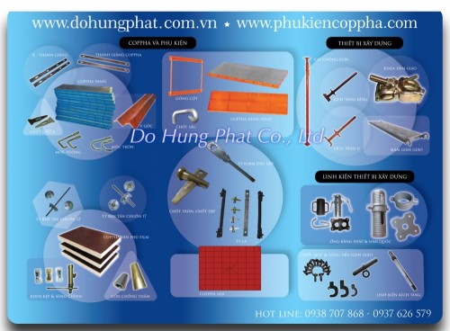 Construction formwork accessories